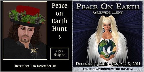 Hatpins - Peace On Earth Hunt Ads