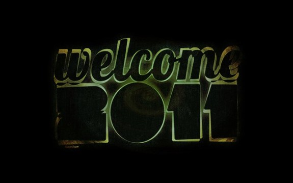 Welcome 2011, Wallpapers and Calendar Designs
