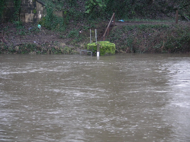 River Taff in Flood