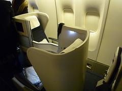 British Airways Club World Seat