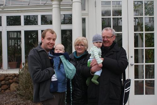 Family At Reynolda Garden