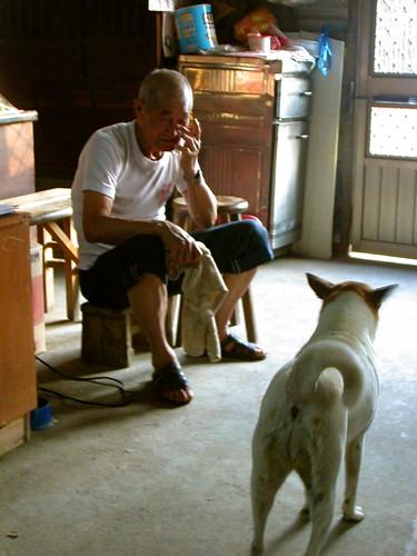 Grandpa and Ah Bai