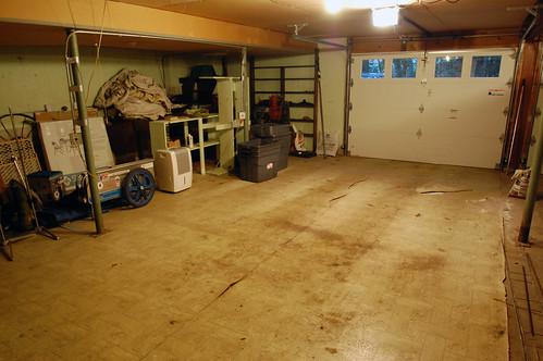 Fixing Our Uneven Garage Floor 3 Acres 3000 Square Feet
