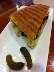 Turkey Sandwich with Brie @ Cafe La Tartine