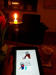 Reading the sidestory about birth of Christ, s...