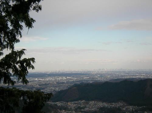 琴平神社からの眺め, 三室山トレッキング(奥多摩)