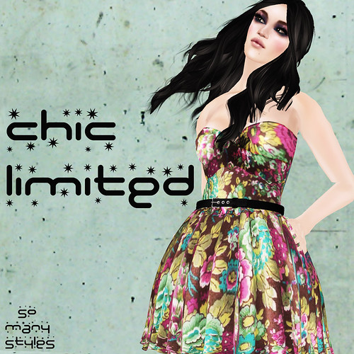 Floral Dress for CHIC Limited event