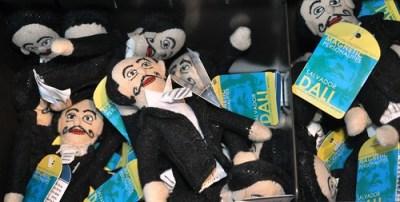 Finger Puppets, Gift Shop of Salvador Dali Museum, Jan. 14, 2011