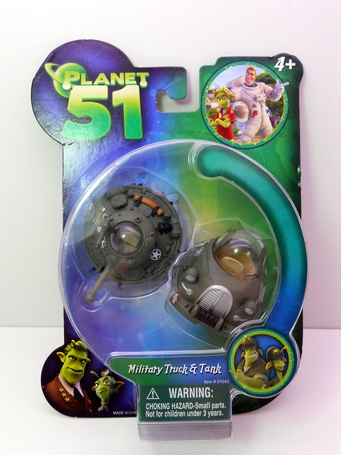 Planet 51 Military Truck & Tank (1)