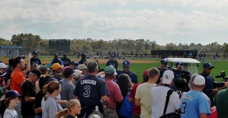 Tampa Bay Rays Spring Training, Feb. 21, 2011