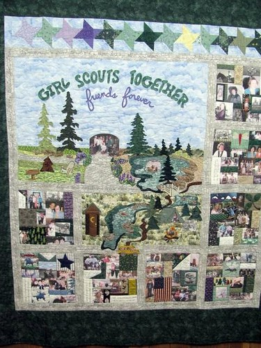 Girl Scouts Together Friends Forever by Phyllis Dickenson