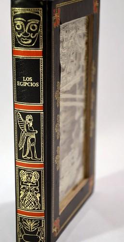 Etsy hokeystokes Book Carving Los Egipcios 2 by Julia Field $150