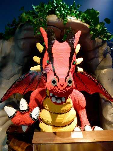 Lego Dragon at the Children's Museum