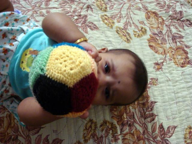 Crochet - Pentagon Ball2