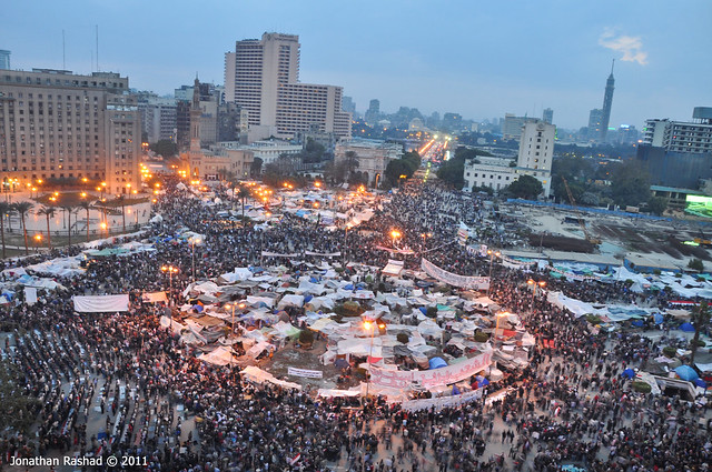 Tahrir Square - February 9, 2011