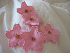 sakura brooches