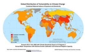 Scenario B2 in Year 2050 with Climate Sensitiv...
