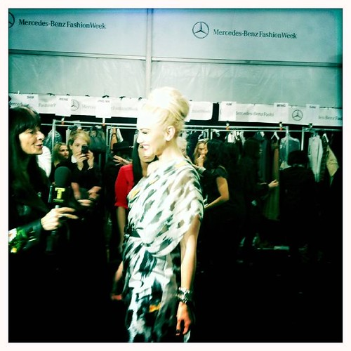 L.A.M.B. Fall 2011 Backstage