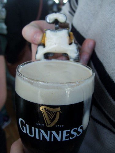 Day 232 Rejected - Guinness Moustache by ajwalters
