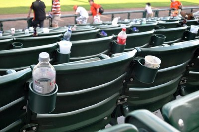 Trash Following Baltimore Orioles Spring Training Game, Sarasota, Fla., March 5, 2011