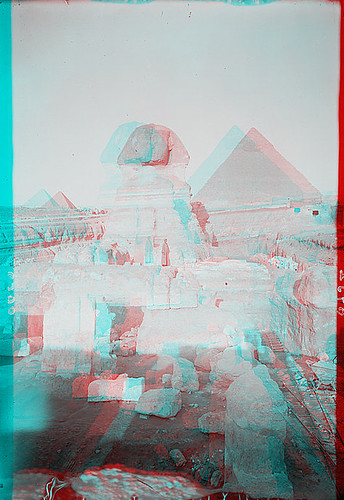 Sphinx with Pyramids 2
