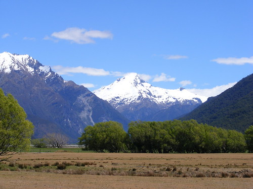 Picture from the Te Wahipounamu World Heritage Area