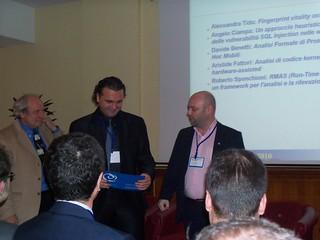 Angelo Ciampa - Premiazione CLUSIT