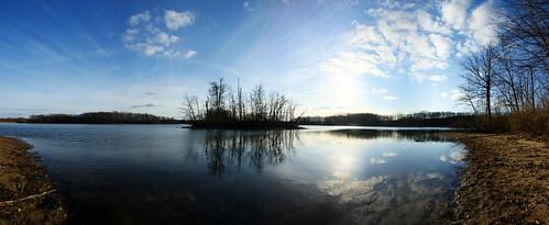 Panorama Kent Lake