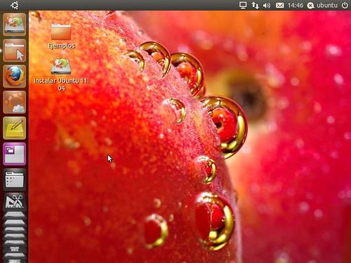 Ubuntu Natty Narwhal - Escritorio