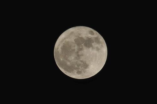 Moon over Twickenham (c: Graham Bancroft)