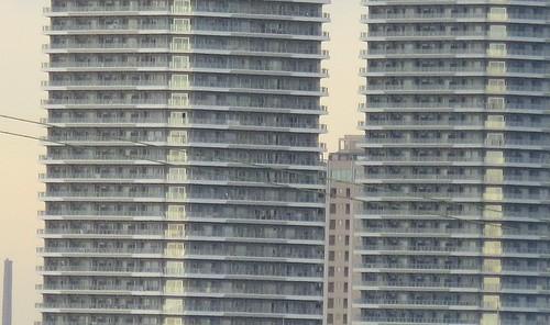 武蔵小杉高層ビル 10倍ズーム