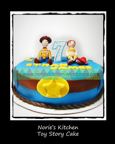 Norie's Kitchen - Toy Story Cake