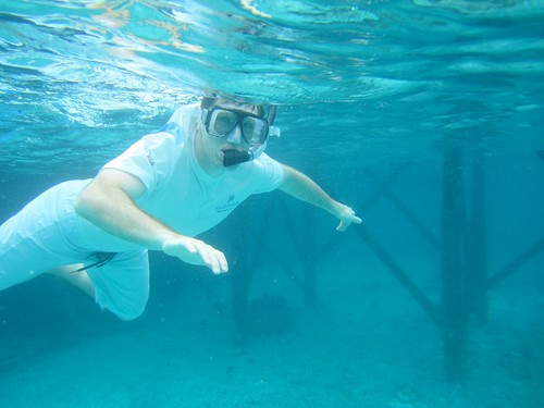 "eric ""making the snorkel"""