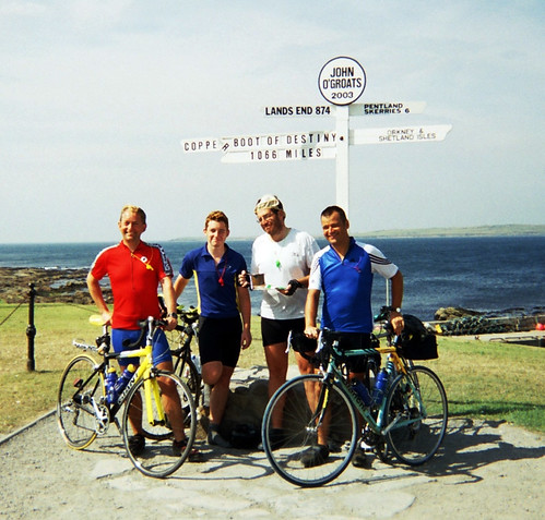 Lands End to John O'Groats. Finished!