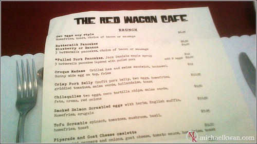 The Red Wagon Cafe, Vancouver