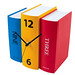 Book clock by Karlsson
