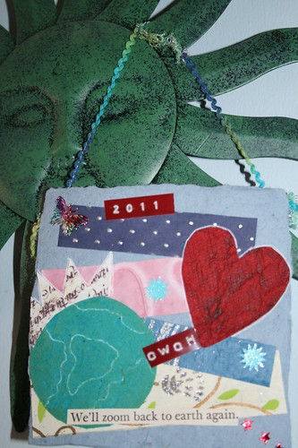 "4"" x 4"" Collage commemorating 2011 OWOH"