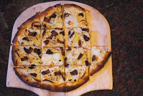 Sliced Potato Pizza