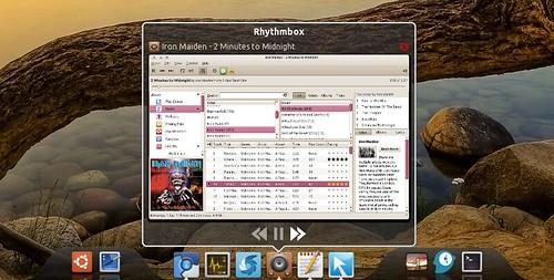 dockbarx-rhythmbox
