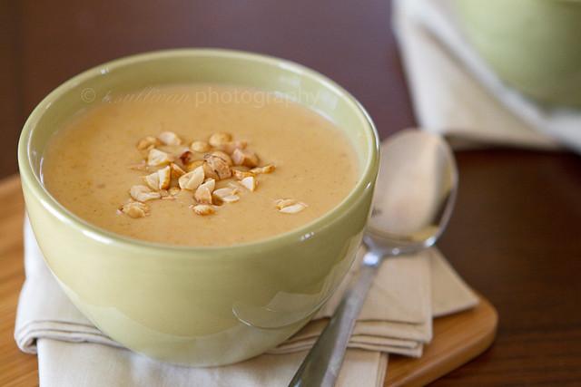 Peanut and Butternut Squash Soup