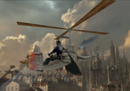 Twisted Metal SteamWorks Fight or Flight Copter