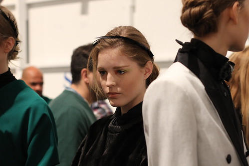 Yigal Azrouel Fall 2011- Backstage (23)