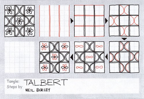 Talbert - tangle pattern by perfectly4med