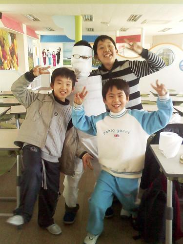 Samil Winter English Camp - Game Day