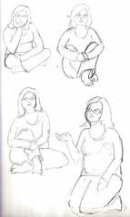 Lisa sketches