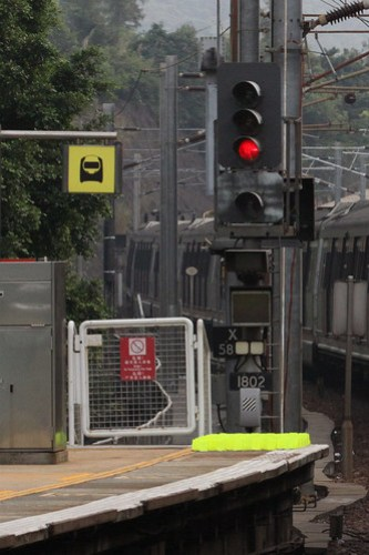 Signal 1820 at University station again