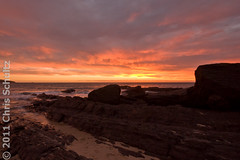 Hallett Cove sunset 2