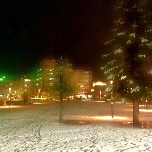 昨夜の余韻を! すっかり雪なくなっちゃったね! 今日もお疲れ様でした。☆。.:*:・'゜ヽ( ´ー`)ノ まったね~♪