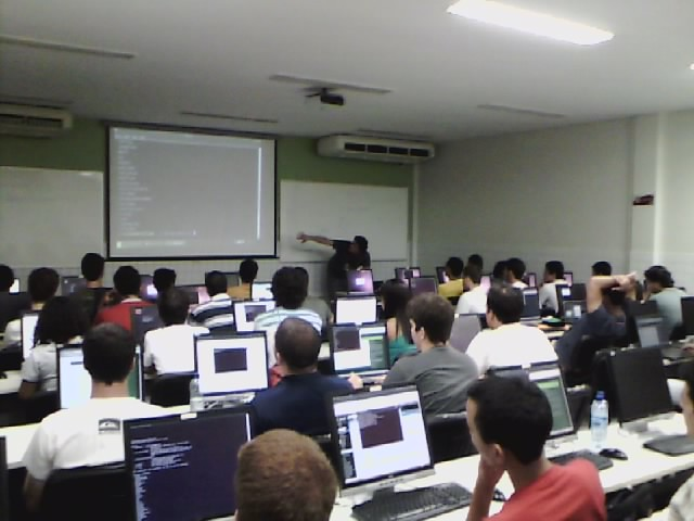 Curso de Django no II Workshop do Centro de Informática
