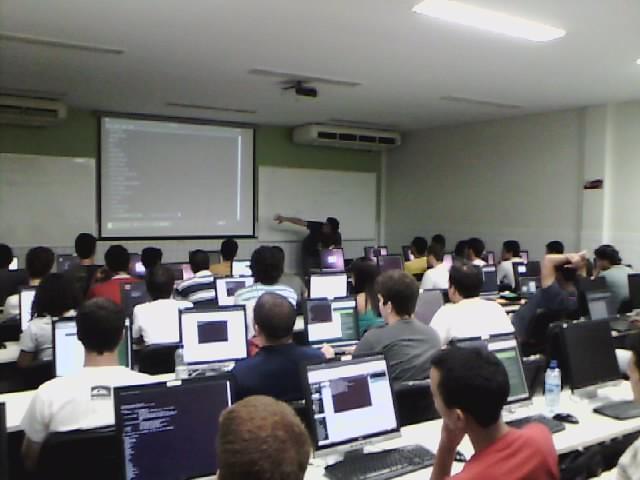 Curso de Django no II Workshop do Centro de Informática